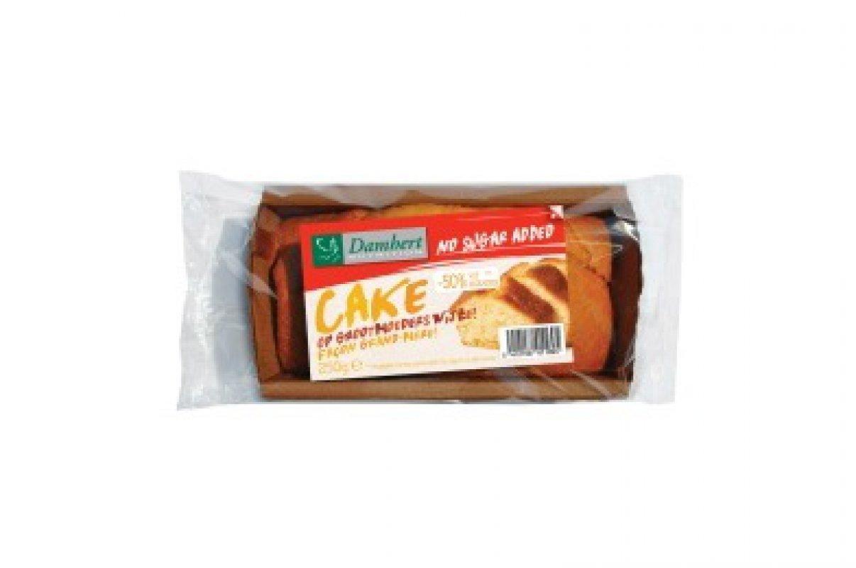 Cake sans sucre ajout pauvre en graisses damhert 250 g - Mesurer sucre sans balance ...