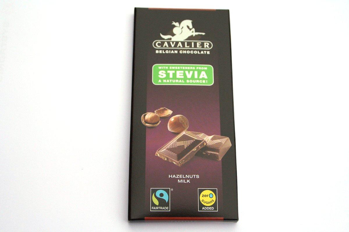 Tablette de chocolat au lait et noisettes cavalier 85 g for 1 tablette de chocolat