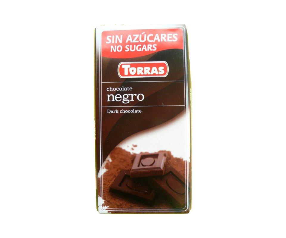 Tablette chocolat noir 75 g torras for 1 tablette de chocolat