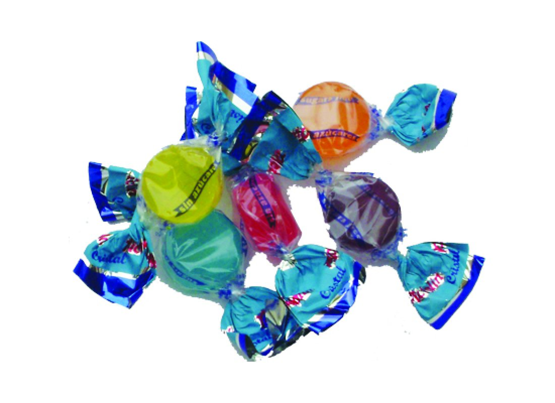 Bonbons Cristal aux fruits. Pictolin. 100 g
