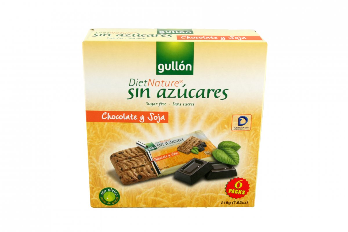 Biscuits Snack Choco Gullon 144 g