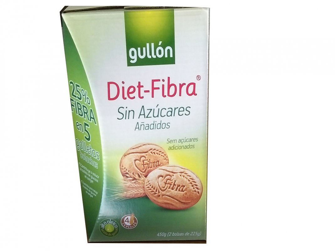 Biscuits Diet-Fibra Gullon 450 g
