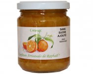 Confiture à l'orange sans sucre Raphaël  250 g