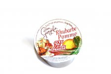 Compote Pommes Rhubarbe 100 g
