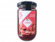 Confiture de fraise sweet switch 210 g
