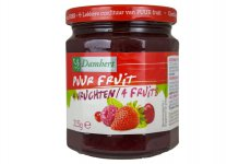 Confiture aux 4 fruits pur fruit 315 g Damhert