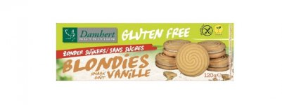 Blondies biscuits fourrés vanille sans sucre ajouté 120 g - D