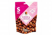 Dragées amandes au chocolat au lait 100 g Sweet Switch