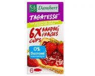 Confiture de fraise en portion  Damhert