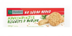 Biscuits d'avoine Damhert 160 g