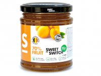 Confiture à l'abricot sweet switch 210 g
